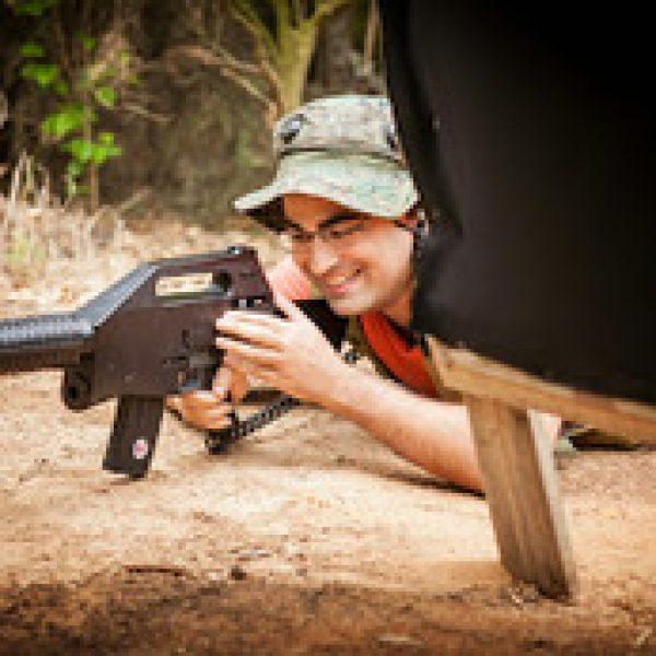 סדנת רובה לייזר אקסטרים